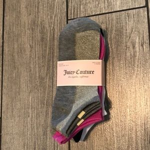 Juicy couture 5 pairs of socks
